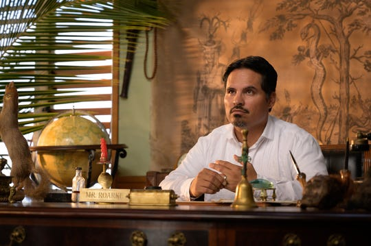 "Michael Pena plays a mysterious version of Mr. Roarke in ""Blumhouse's Fantasy Island."""