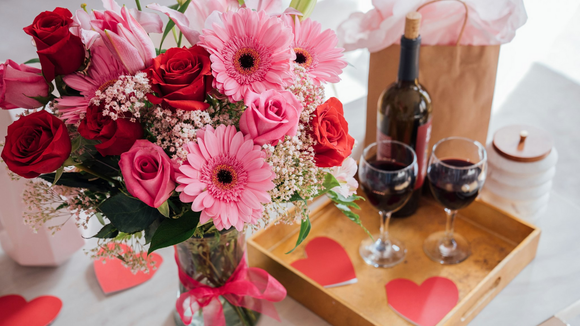 Get your V-Day flowers delivered on time—at a great price.