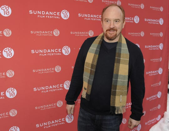 "In this Jan. 26, 2010 file photo, comedian Louis C.K. poses at the premiere of his film ""Louis C.K.: Hilarious"" at the Sundance Film Festival in Park City, Utah."