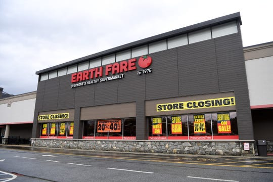 The Earth Fare location at 1856 Hendersonville Rd. in South Asheville on Feb. 11, 2020.