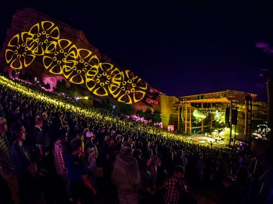 Umprey's McGee at Red Rocks. The band will play five shows across three days while in Western North Carolina.