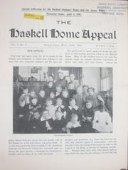 The April 2, 1898 edition of the Haskell Home Appeal, a national publication of the Seventh-day Adventist Church.