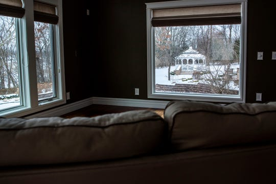 A $3.9 million home on Union Lake is for sale, pictured on Monday, Feb. 10, 2020 in Union City, Mich.