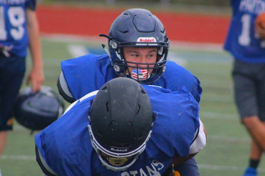 Bainbridge football player Alex Ledbetter will play next season at Pomona College in California.