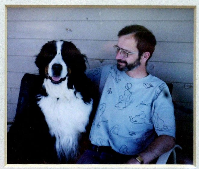 A photo of P&G executive George Gibson, 47, of West Chester, whose body was found along with the body of two of his dogs shot to death in 2000.