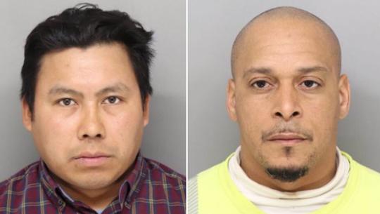 Jose Ruiz, 27, left, and Doug Shurelds, 47.