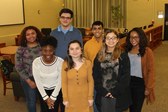 Somerset County Vocational & Technical High School's NJ STARS eligible students (back, left to right) Yatzeidy Gonzalez of Franklin Park, Brian Coletta of Green Brook, Mark Yagual of Bound Brook, (front, left to right) Madison Pitts of South Bound Brook, Maria Scarpantonio of Manville, Anabella Jaime of Manville and Jayda Upton of Watchung.