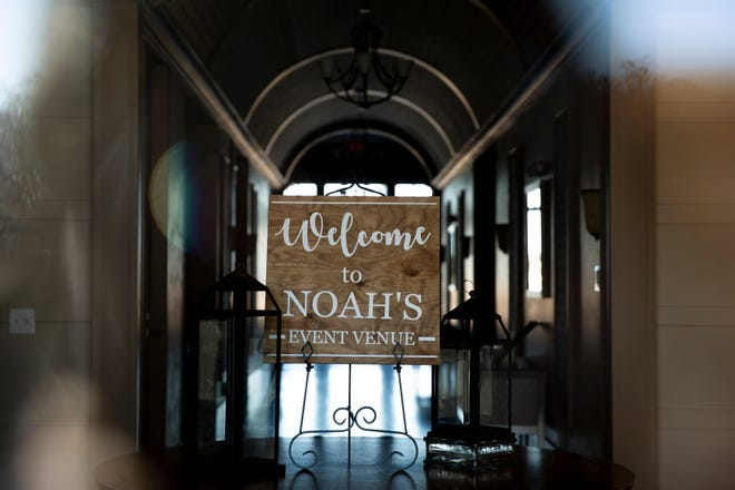 Noah's Event Venue closed suddenly last week and now many Des Moines couples are without a wedding venue. The empty building is seen on Tuesday, Feb. 11, 2020, in West Des Moines.