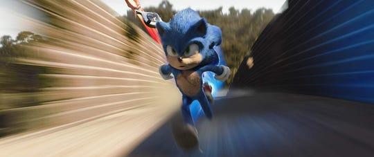 """Ben Schwartz voices Sonic in """"Sonic the Hedgehog."""""""