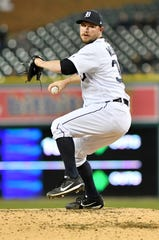 Tigers relief pitcher Alex Wilson has added a sidearm deliver to his repertoire.
