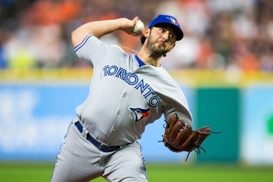 Former Blue Jays pitcher Mike Bolsinger is seeking unspecified damages against the Astros for interfering with and harming his career.