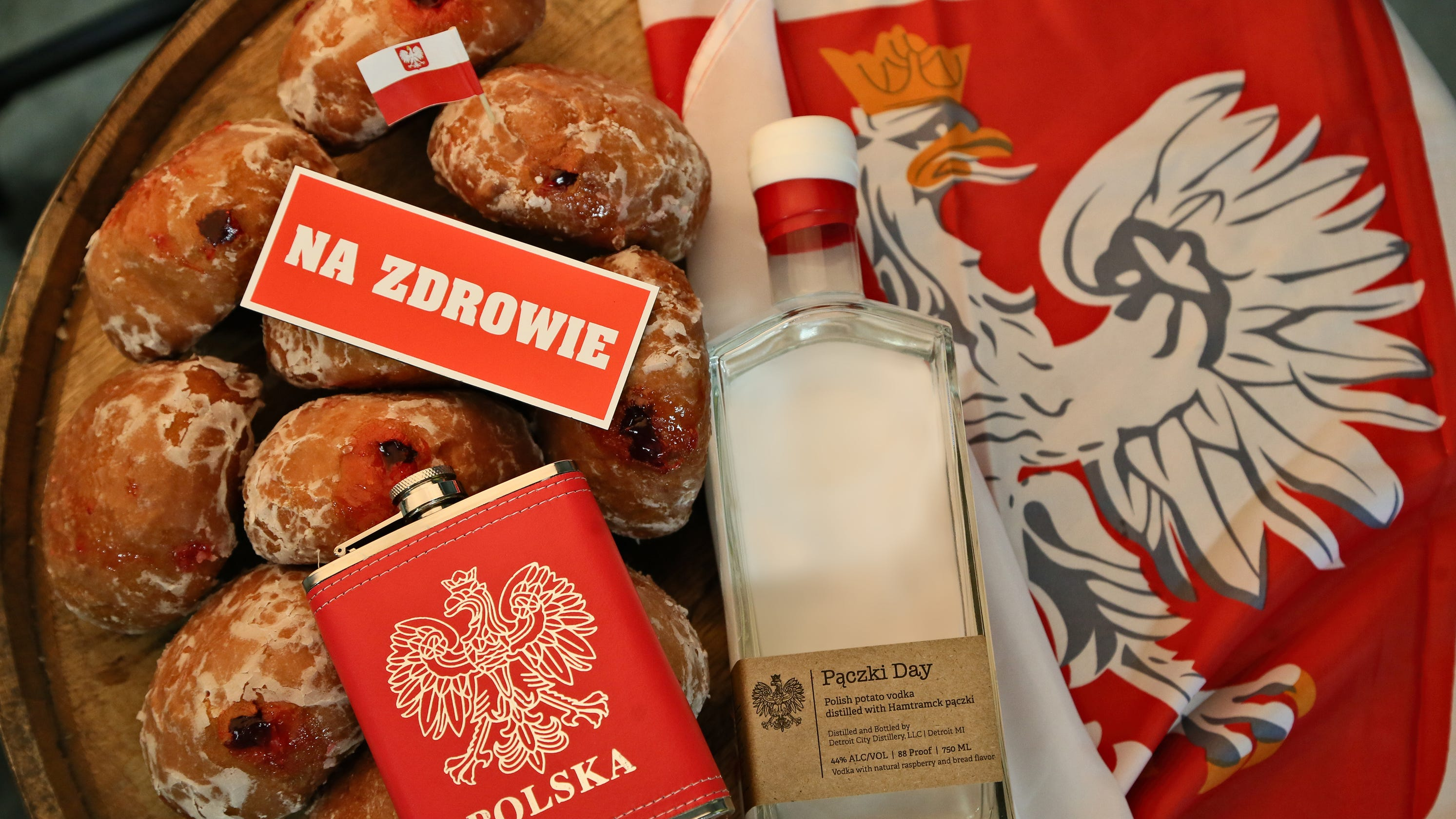 Detroit City Distillery makes Paczki Day Vodka ahead of Fat Tuesday