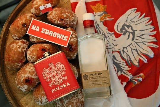 Detroit City Distillery will release Paczki Day Vodka on Feb. 22. This year's batch is made with 12 dozen paczki from New Palace Bakery in Hamtramck.