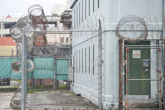 The exterior of the Department of Corrections Hagåtña Detention Facilities in Hagåtña, Feb. 11, 2020.