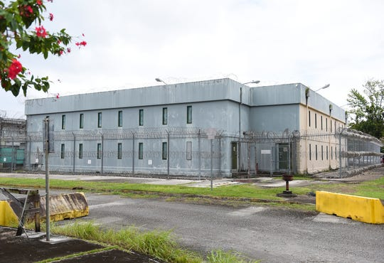 The Department of Corrections Hagåtña Detention Facilities in Hagåtña, Feb. 11, 2020. The federal public defender's office has filed court papers alleging the conditions at the Hagåtña facility are inhumane and violate detainees' and inmates' constitutional rights.