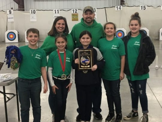 The Cairo Elementary archery team won the elementary school division of the NASP Region Two Tournament on Saturday.