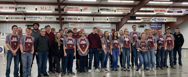 The Henderson County High School archery team won the NASP Region Two regional championship Saturday.