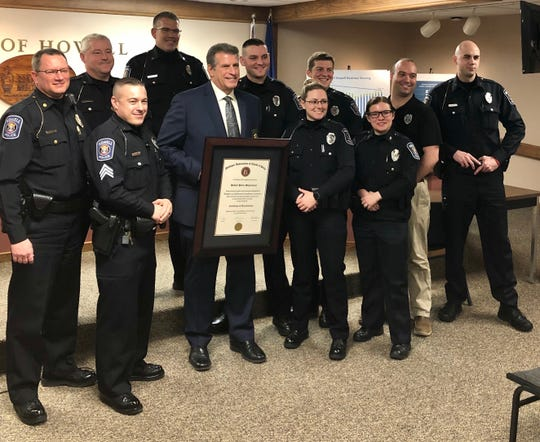 The City of Howell Police Department earned an accreditation from the Michigan Law Enforcement Accreditation Commission on Feb. 10, 2020.