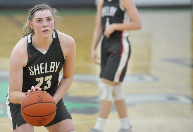 Shelby sophomore Olivia Baker has the Lady Whippets at No. 1 in the Richland County Girls Basketball Power Poll.