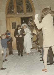 Larry and Barb VanHoveln tied the knot on Jan. 17, 1970 on a snowy evening, much like the night of their first date.