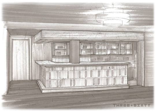 A new bar and shelving will be built when fine-dining restaurant Ardent closes for remodeling Feb. 23 until early April.