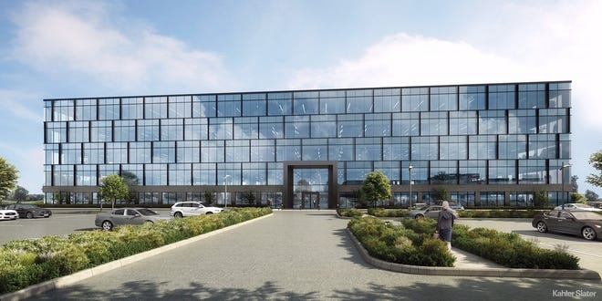 Construction is to begin this spring on two new office buildings at The Corridor development in Brookfield.