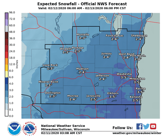 Snow is expected across southeast Wisconsin beginning Wednesday, but how much falls where remain questions.