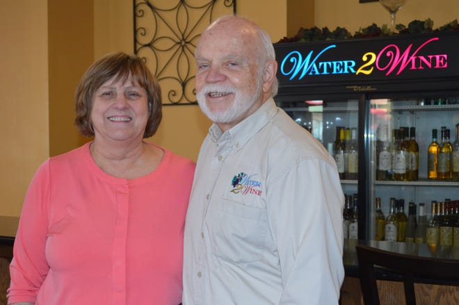 Larry and Barb VanHoveln of Sussex own Water 2 Wine in Brookfield.