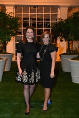 Antiques & Garden Show co-chairs Louise Bryan and Ashley Levi.