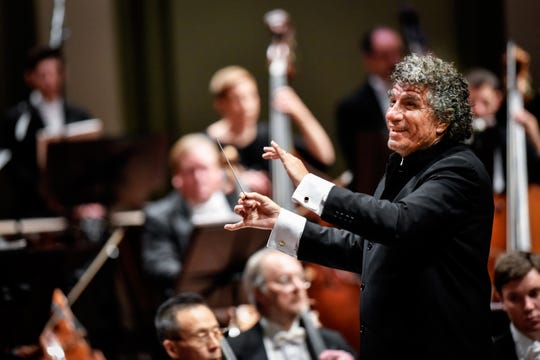 Nashville Symphony music director Giancarlo Guerrero.