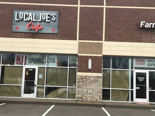 Local Joe's Café will open on North Mt. Juliet Road.
