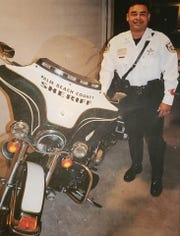 Palm Beach County Sheriff's Office deputy Hubert Burey died Feb. 9, 2020, in a motorcycle crash in Collier County.