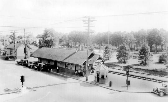 Westwood Train Station in an undated photo.