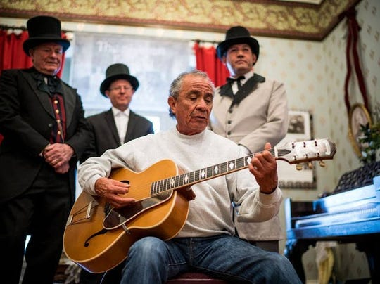 Guitarist and balladeer Danny Cordova returns to Territorial Charter Day for performances at 12:30 and 2 p.m. Saturday, Feb. 15, at the El Rey Theater in Silver City.