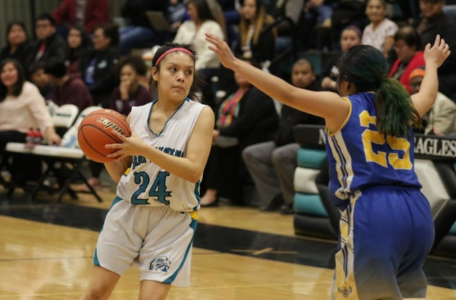 The Navajo Prep Lady Eagles are the top-ranked 3A girls basketball team in this week's New Mexico Overtime Sports Center rankings.