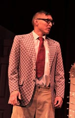 "Bryson Howard is featured in the Theater Ensemble Arts production of ""Four Weddings and an Elvis."""
