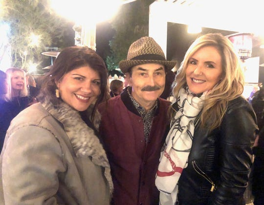 Shay Moraga, BB Ingle and Kate Spates were among the attendees at the American Cancer Society's kickoff event on Tuesday, Feb. 4, 2020.