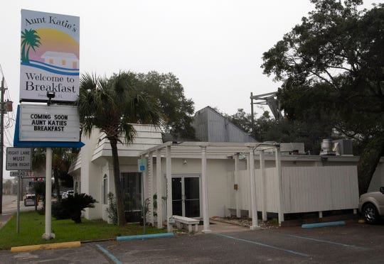 Aunt Katie's Welcome to Breakfast restaurant is expected to open in late February or early March in East Pensacola Heights.