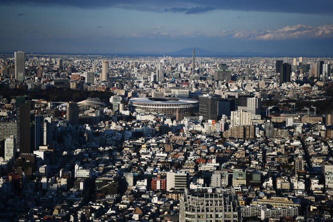 Tokyo will host the 2020 Olympics from July 29-Aug. 9, the first Summer Games in Japan since 1964.