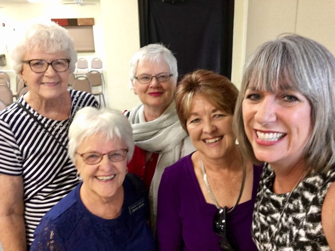 I went to church at Sunland Village East in Mesa  on Aug. 26, 2018, for one story, found a second one and got to talk with longtime readers.