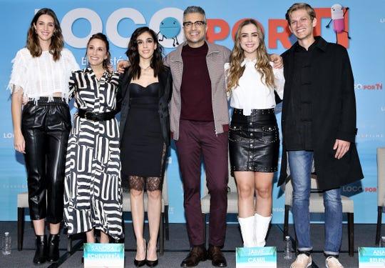 """Jaime Camil y Sandra Echeverría, encabezan el reparto de la comedia romántica, """"Las Píldoras de mi Novio"""", que se estrena este 21 de febrero en Estados Unidos."""
