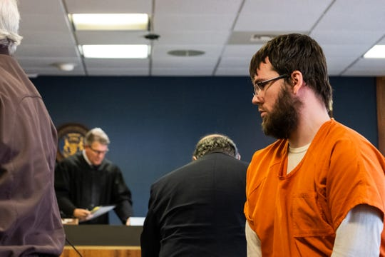 Joshua Bauman, 31, will be sentenced by St. Clair County Circuit Judge Michael West on Feb. 20 at 2:30 p.m.  Bauman pleaded guilty to first-degree premeditated murder, two counts of assault with intent to murder and first-degree home invasion for the Aug. 24, 2018 shooting of Port Huron Police Lt. Joel Wood and wounding of two others.