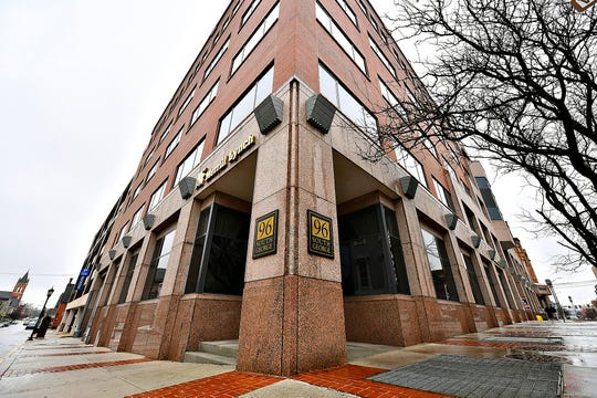Glatfelter corporate headquarters at 96 South George St. in York City, Tuesday, Feb. 11, 2020. Dawn J. Sagert photo