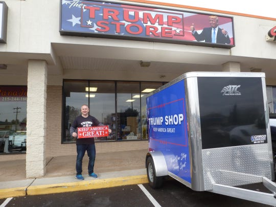 The Trump Store sells all things related to the 45th president in Bensalem, Pennsylvania.