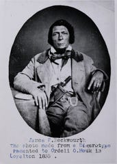 Born a slave, James Beckwourth became a legendary mountain man. Beckwourth Pass and the town of Beckwourth, located just east of the Nevada-California border, are named for him.