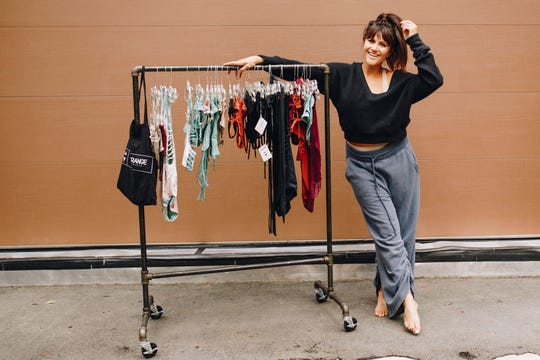 Ali Conway is the founder and designer of Strange Bikinis, a Reno-based boutique swimwear line.