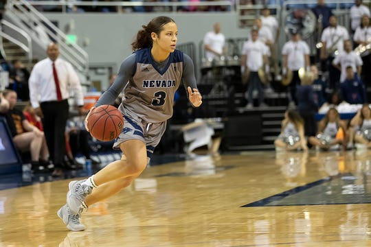 Nevada's Essence Booker leads the Wolf Pack in scoring, at 12.8 points per game.