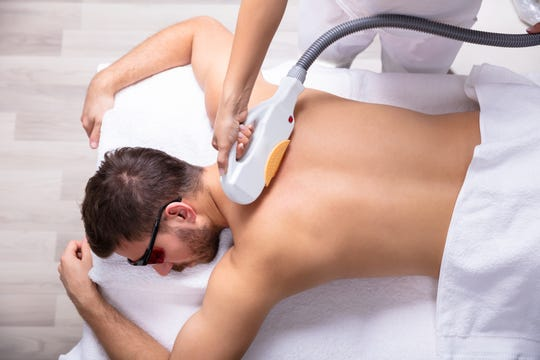 Men can quickly and affordably up their appeal with back hair removal.