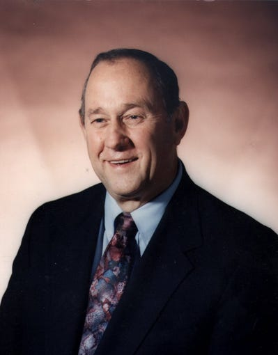 Bob Cashell in a 1997 file photo