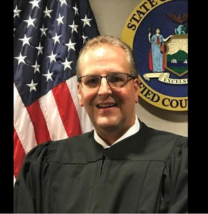 Herkimer Town Justice Michael Petucci, should be censured for after he was suspended from his duties more than a year ago after driving drunk and crashing his vehicle into a building, a state commission said Feb. 11, 2020.